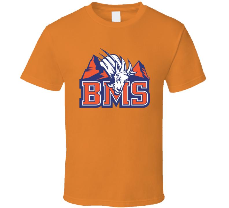 BMS Blue Mountain State Goats Popular Football TV Show T Shirt
