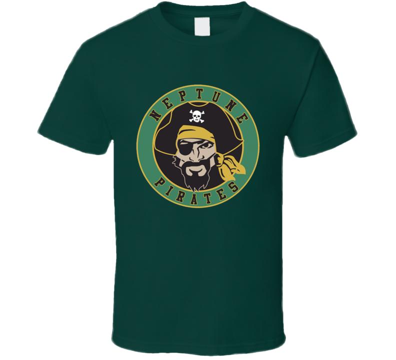 Neptune Pirates Veronica Mars Baseball Team Fun Popular TV Show T Shirt