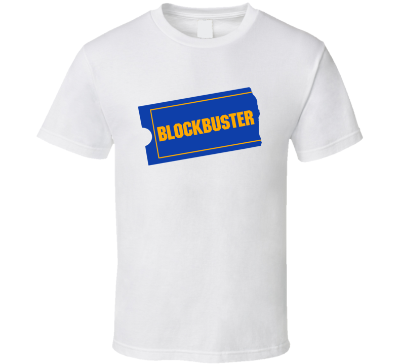 Blockbuster Video Fun Popular Movie Rental Vintage Store 80s 90s Graphic T Shirt