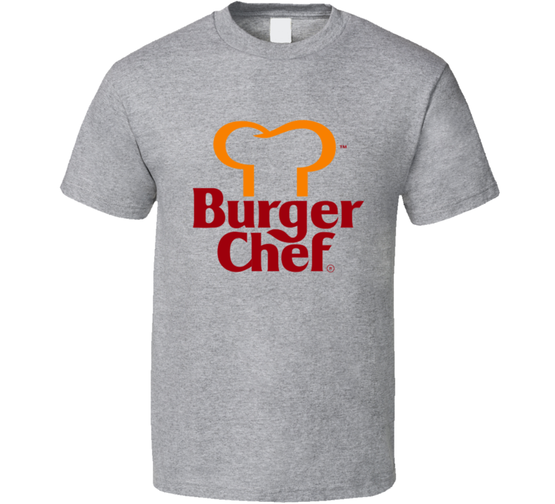 Burger Chef Fun Popular Fast Food Restaurant 70s 80s Vintage Logo Graphic T Shirt