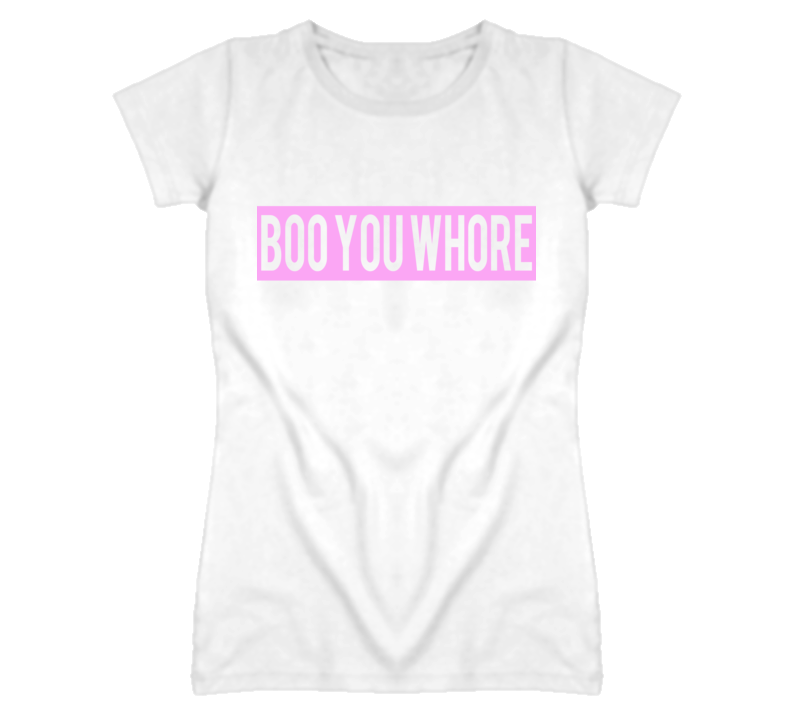 Boo You Whore Mean Girls Popular Graphic T Shirt