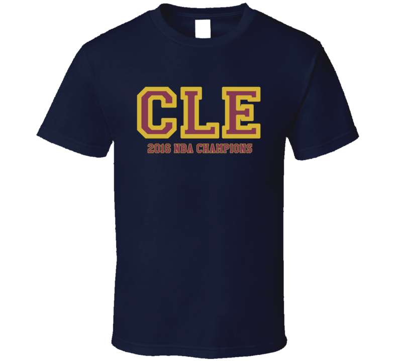 Cleveland Cavs 2016 Basketball Champions CLE Ohio Professional Celebration T Shirt