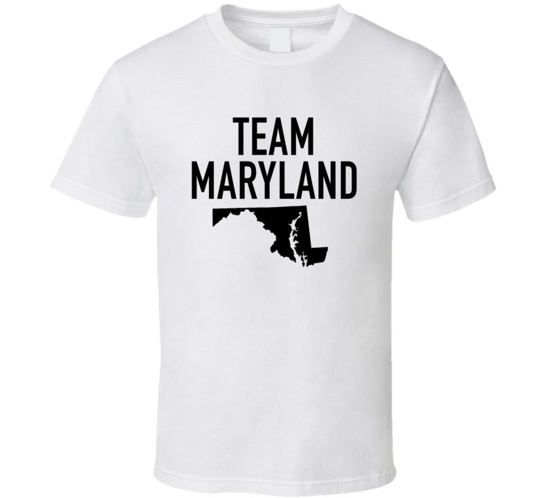 Team Maryland Fun 2016 Rio Summer Olympics USA Medals Graphic T Shirt