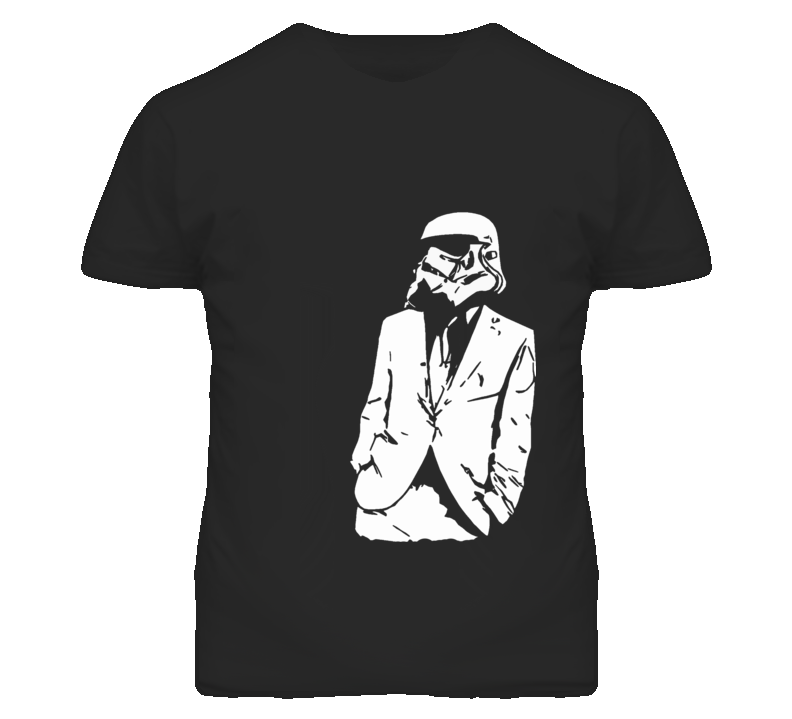 All Business Stormtrooper Suit Graphic T Shirt