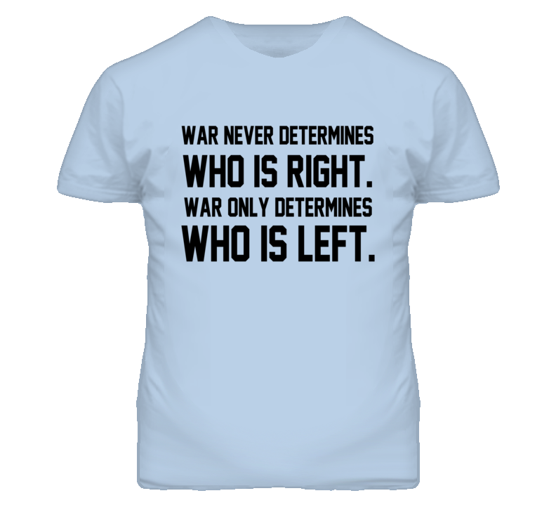 War Who Is Right And Who Is Left Political Graphic T Shirt