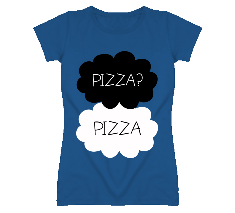 Pizza Fault In Our Stars Okay Funny Parody Graphic T Shirt