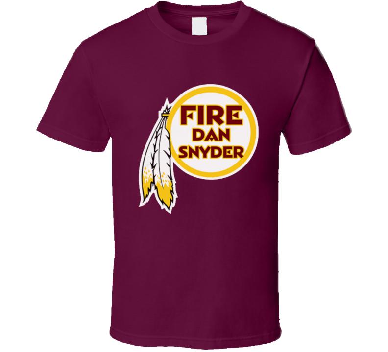 Fire Dan Snyder Popular Washington Hockey Graphic Fan T Shirt