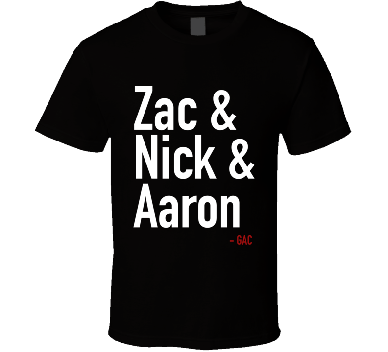 Zak Bagans And Nick Groff And Aaron Goodwin Gac Ghost Adventures Crew Fun Rollcall Graphic T Shirt