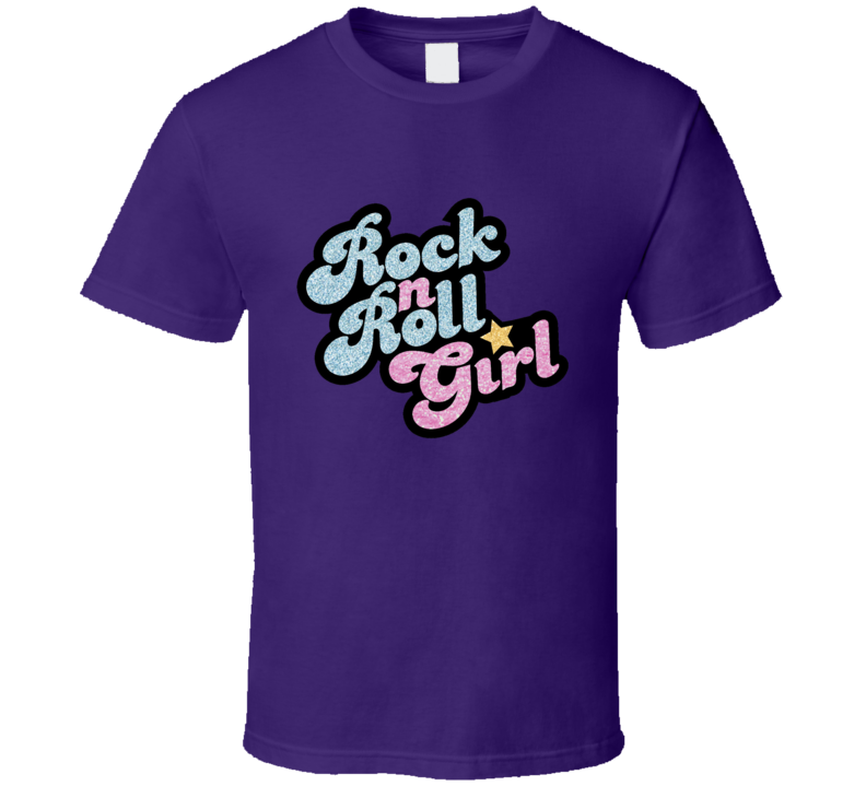 Rock N Roll Girl Fun Darla Find Nemo Halloween Costume Graphic T Shirt