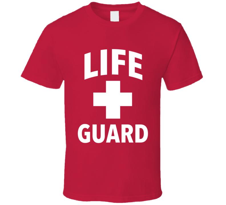Life Guard Fun Popular Halloween Costume Graphic T Shirt