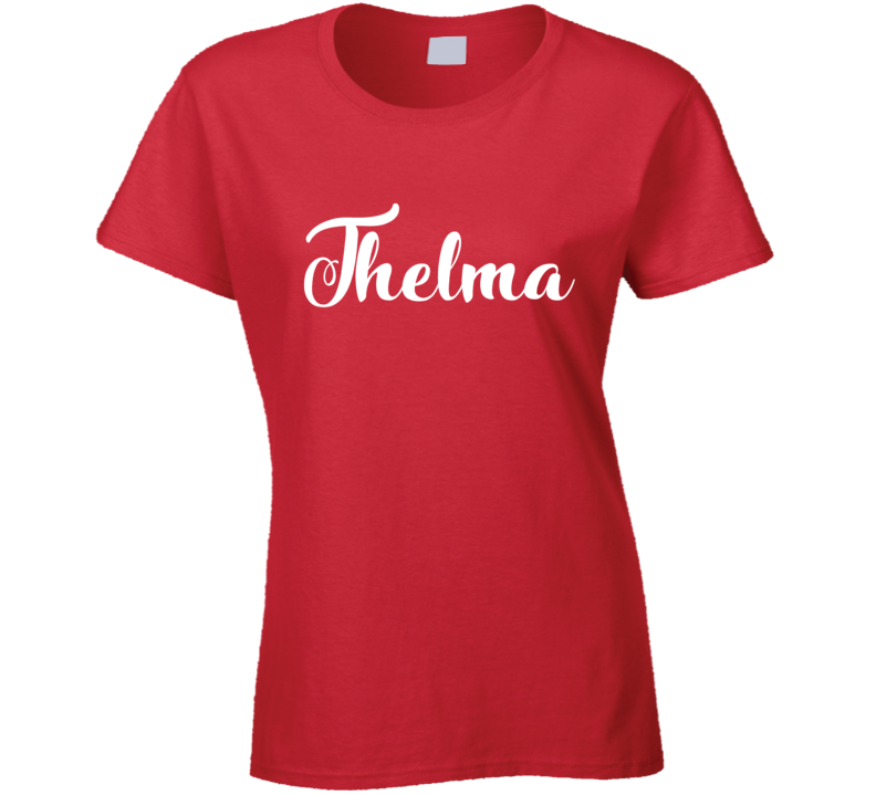 Thelma Fun Popular Movie Halloween Costume Best Friends Graphic T Shirt