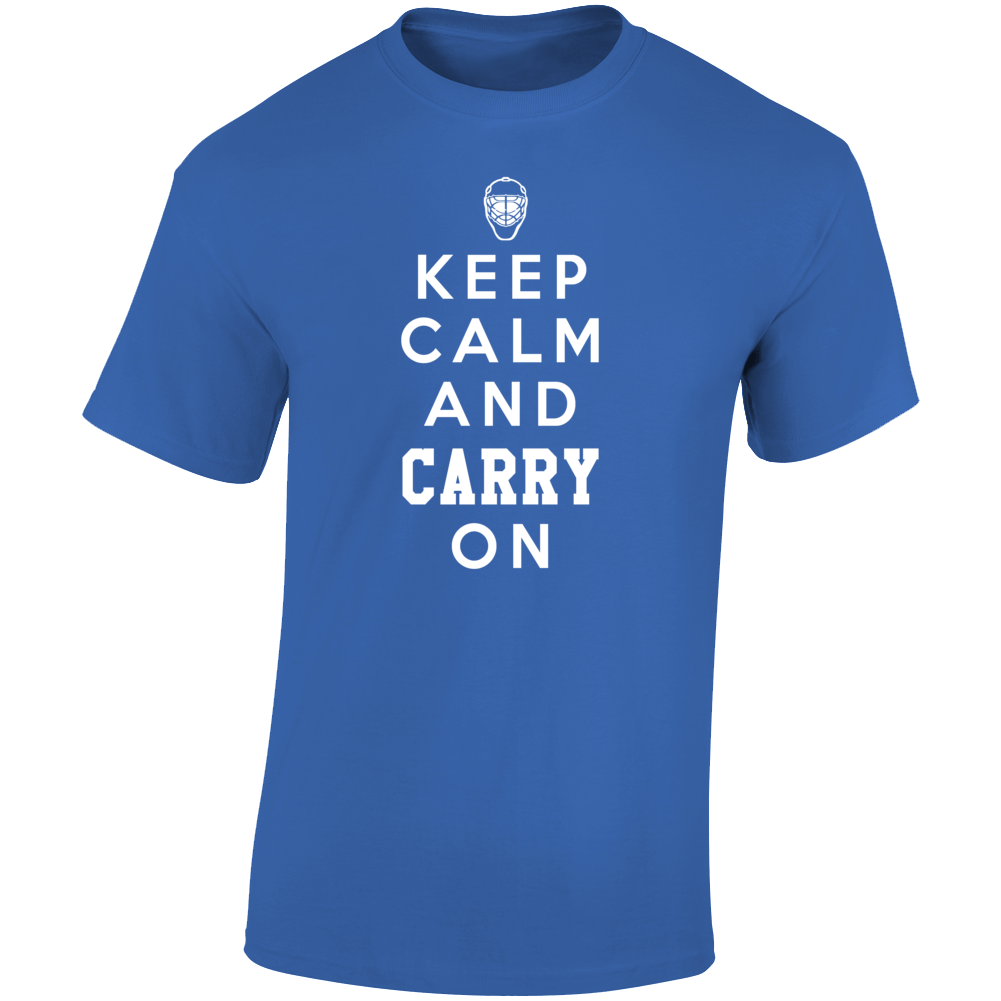 Keep Calm And Carry Price On Montreal Habs Hockey Fan Graphic T Shirt