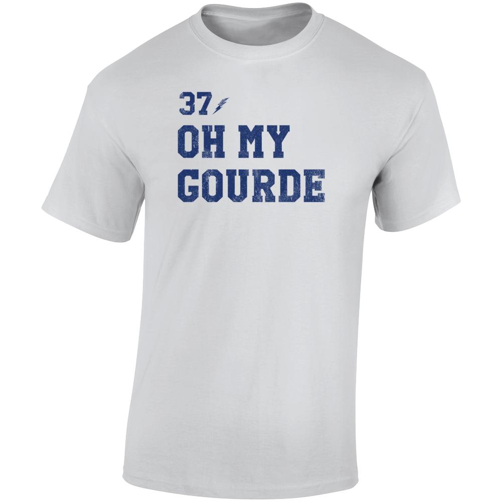 Oh My Gourde Tampa Yanni Gourde Vintage Hockey Fan T Shirt