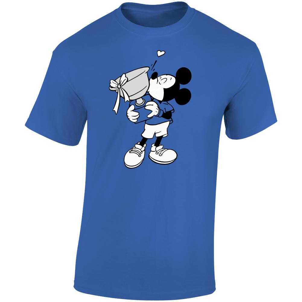 Novak Djokovic Mickey Mouse Tennis Trophy Graphic T Shirt