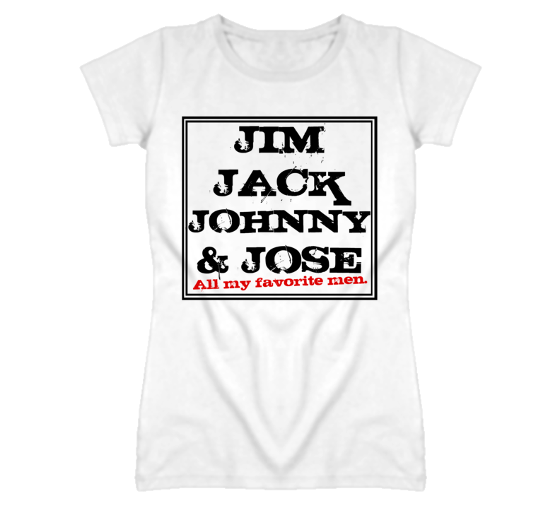 Jim Jack Johnny And Jose Favorite Men Graphic T Shirt