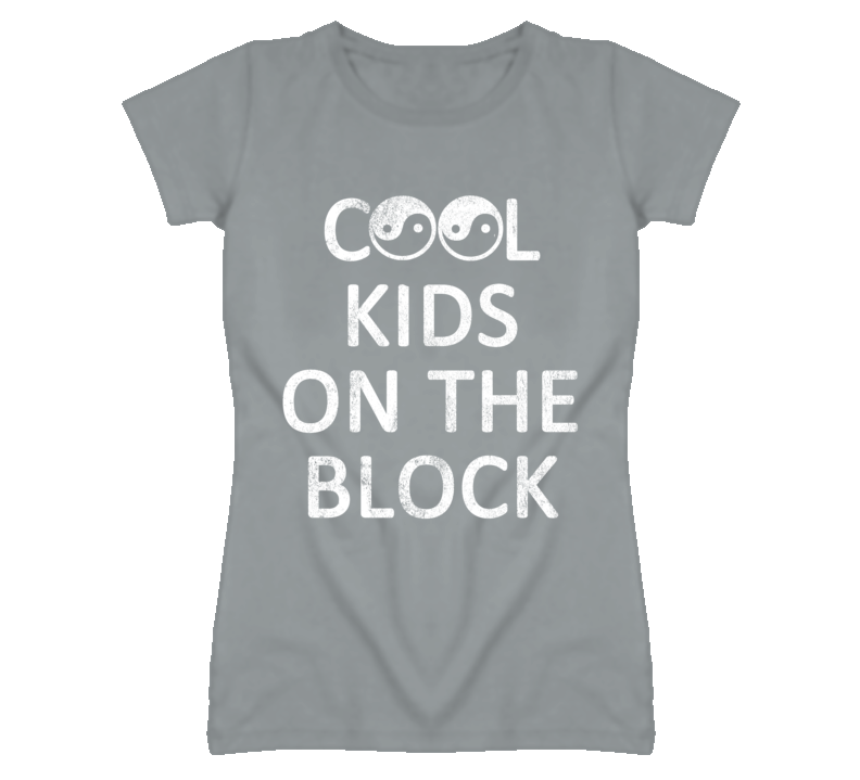 Cool Kids On The Block Ying Yang Graphic T Shirt