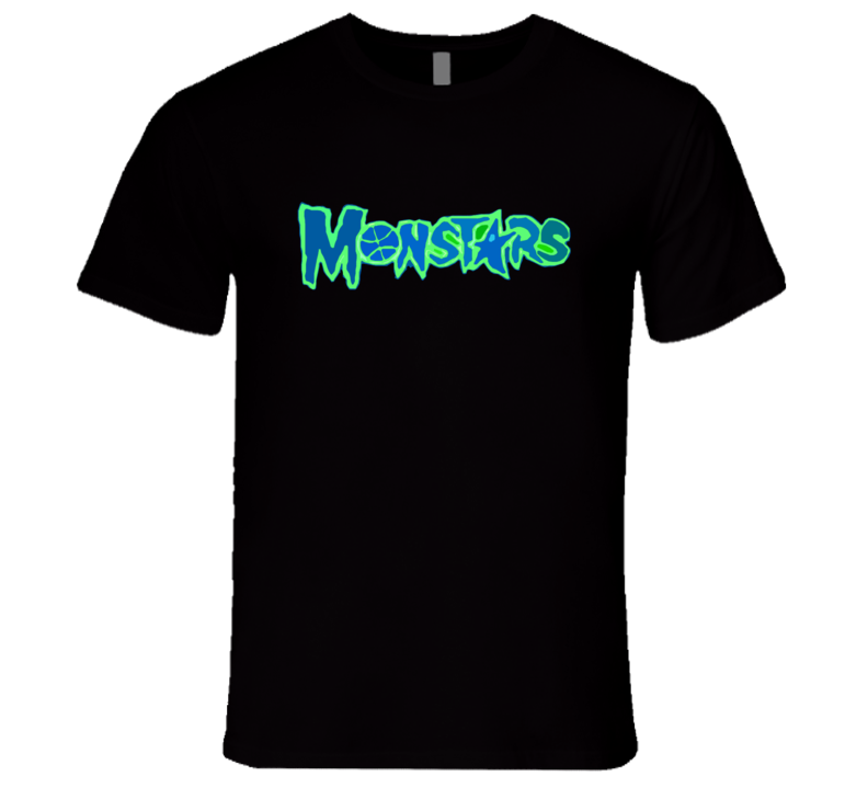 Monstars Space Jam Popular Basketball Movie Tee Shirt