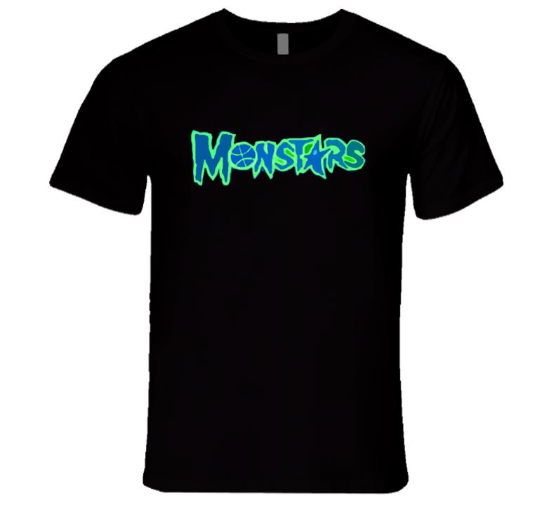 Monstars Space Jam Popular Basketball Movie Tee Shirt