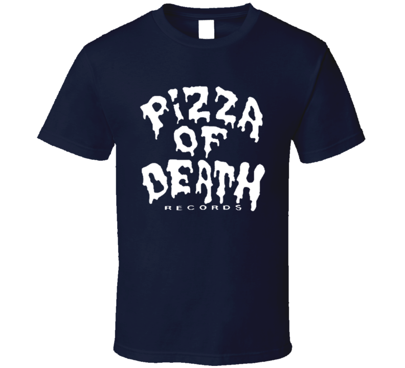 Pizza Of Death Records Fun Music Tee Shirt