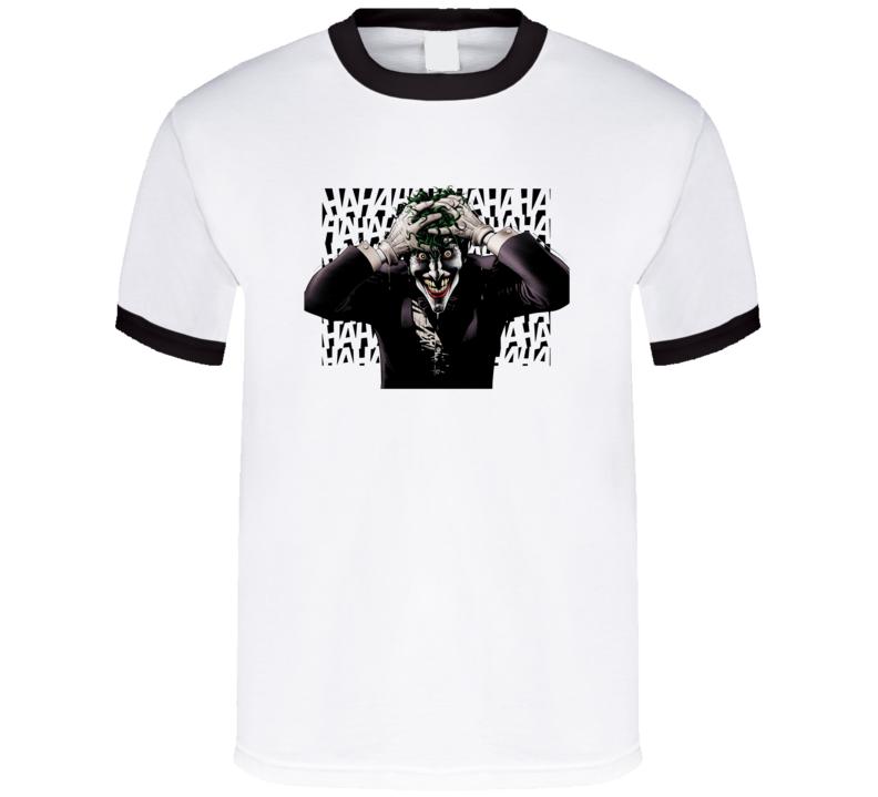 Funny Joker Laughing Ha Ha Ha T Shirt