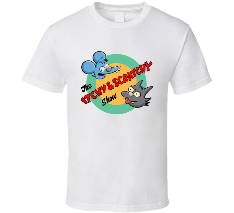 The Itchy and Scratchy Show T Shirt