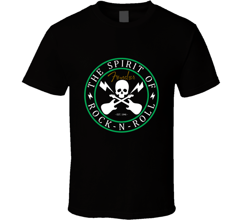The Spirit of Rock N Roll T Shirt