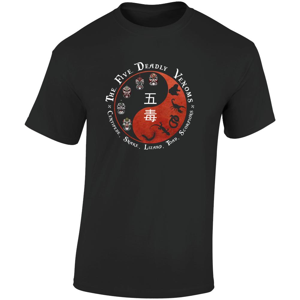 the Five Deadly Venoms T Shirt