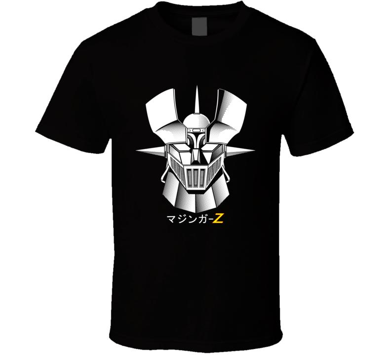 Japan Retro Mazinger Z Mecha Robot T Shirt