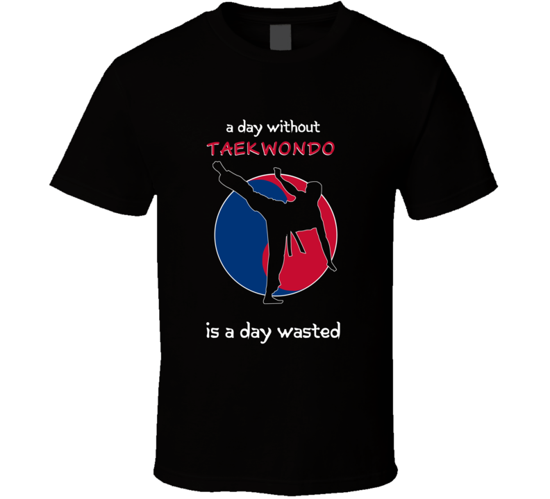 A Day Without Taekwondo Is A Day Wasted T Shirt