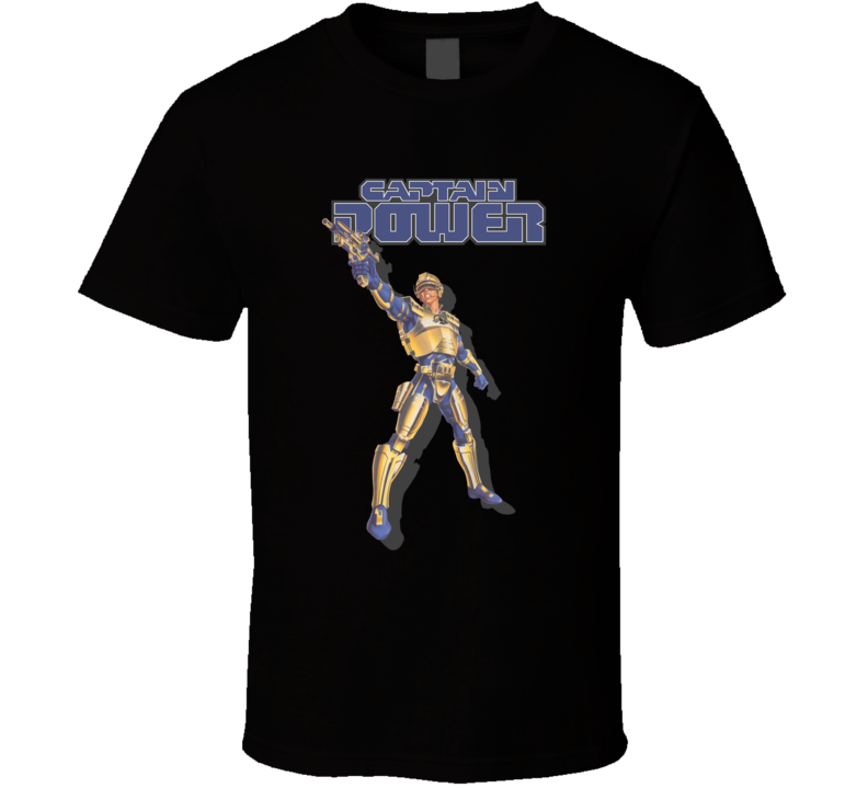 Captain Power The Soldiers of The Future T Shirt