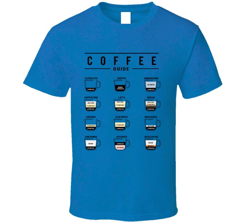 Coffee Guide T Shirt