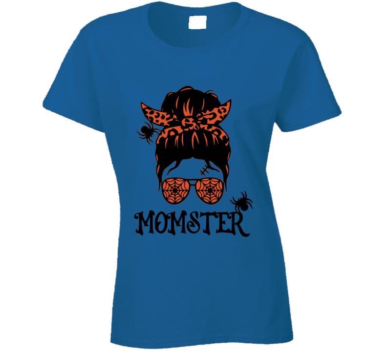 Halloween Momster Ladies T Shirt