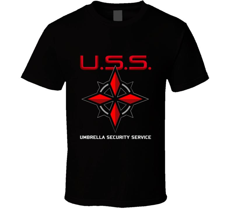 USS Umbrella Security Service T Shirt