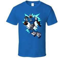 Calvin Johnson Megatron Cartoon T Shirt