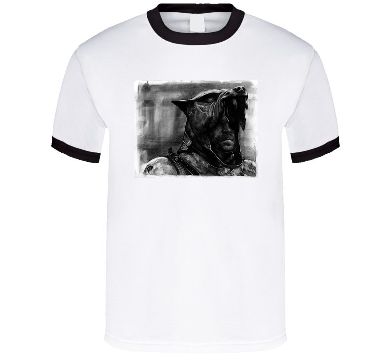 Game of Thrones The Hound Sketch Tshirt