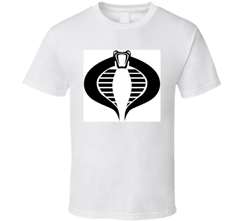 Retro 80's Cartoon Cobra Logo Tshirt T Shirt
