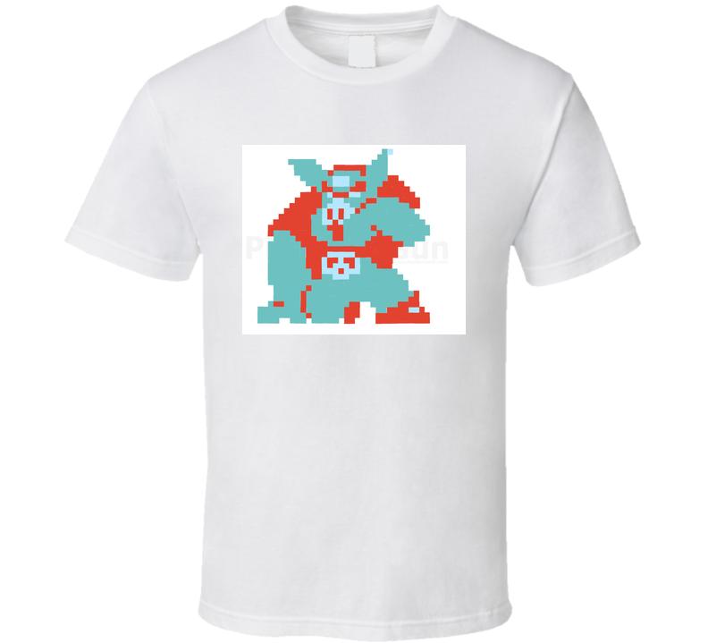 Retro Video Game Legend of Zelda 8 Bit Ganon  T Shirt