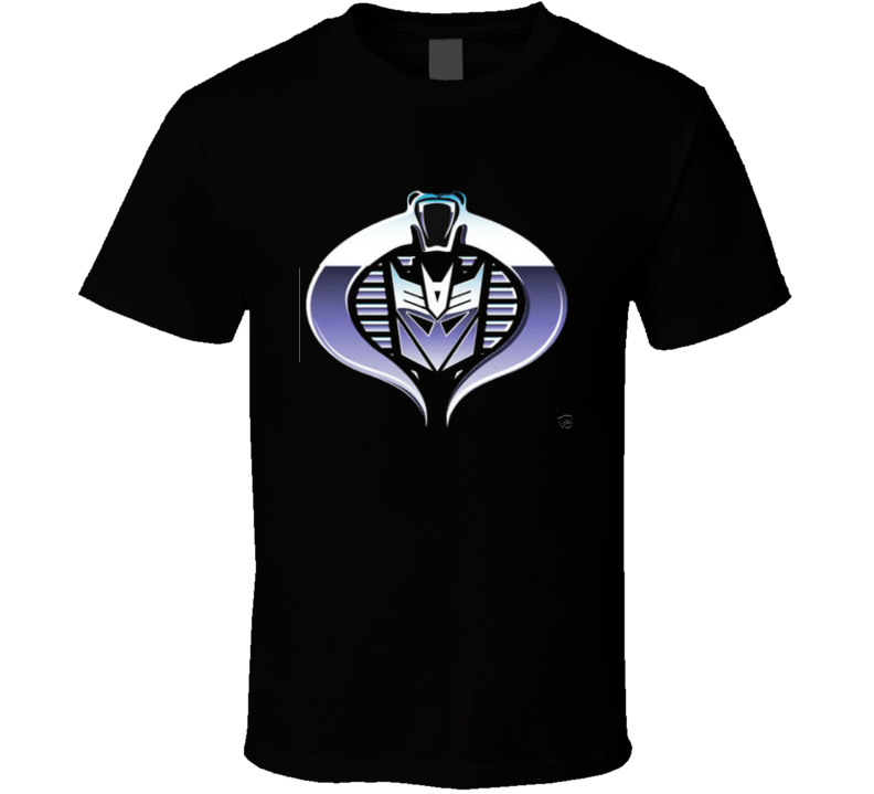 GI Joe Cobra Decepticon Tshirt  T Shirt
