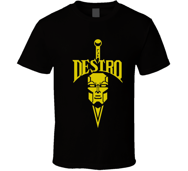 80's Cartoon GI JOE Destro Tshirt T Shirt