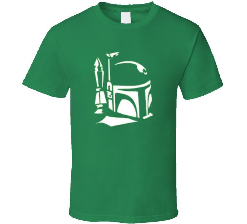 Star Wars Boba Fett Stencil  T Shirt