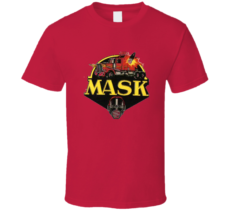 80's Cartoon MASK  T Shirt