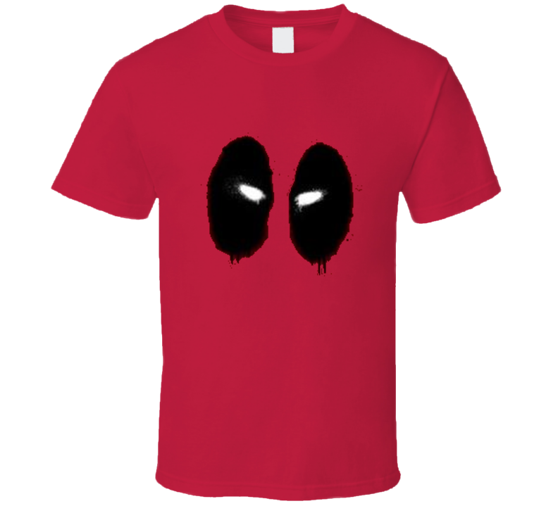 Deadpool Big Face  T Shirt