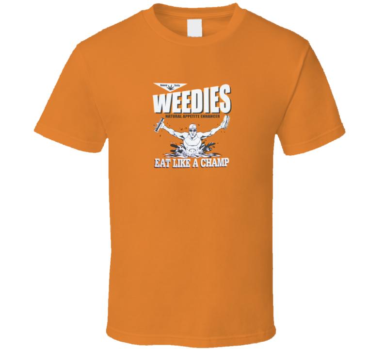 Michael Phelps Swimming Champion Weedies  T Shirt