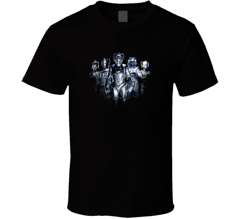 Doctor Who Cybermen Evolution Cyber Team T Shirt