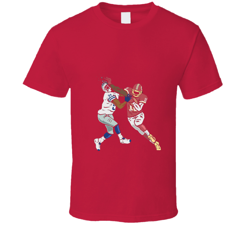 RG3 Washington SMASHING DALLAS Football T Shirt
