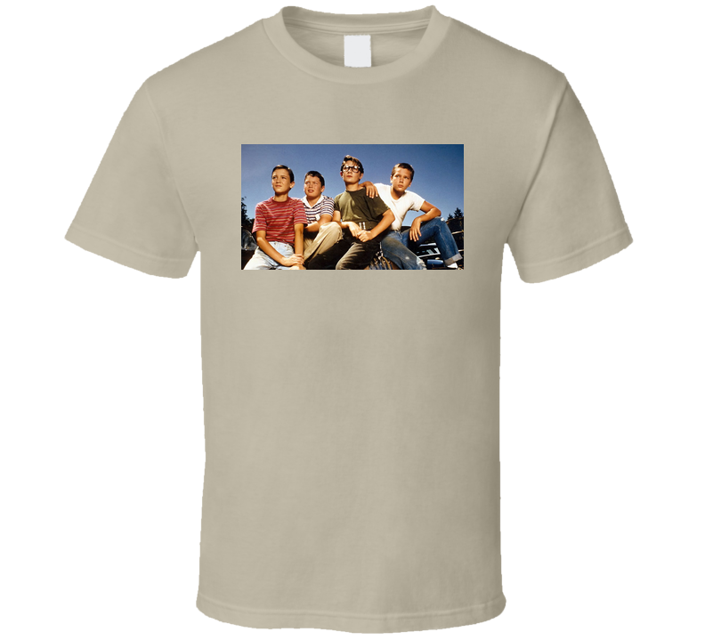 Classic 80's Movie Stand By Me  T Shirt