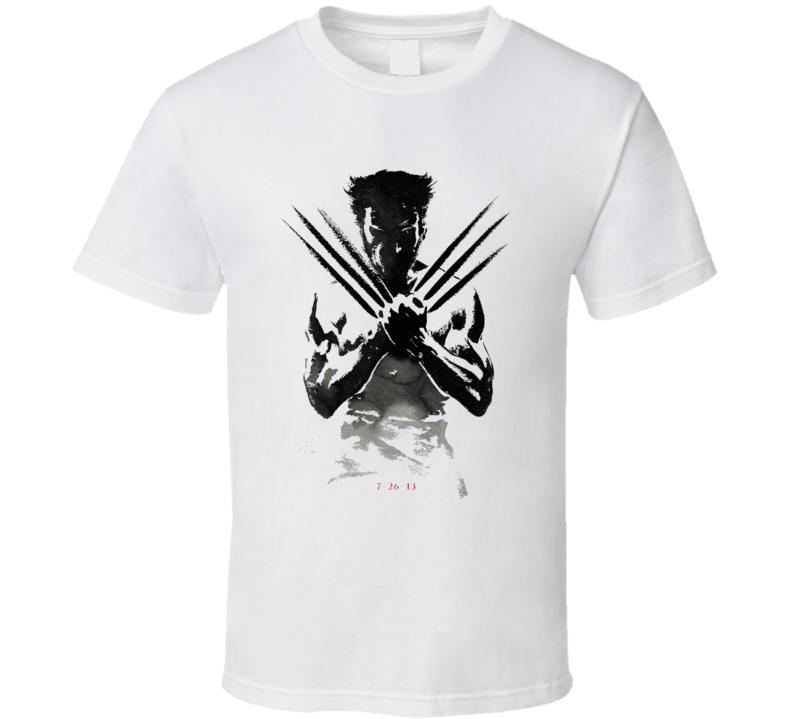 The Wolverine Movie Poster Tshirt