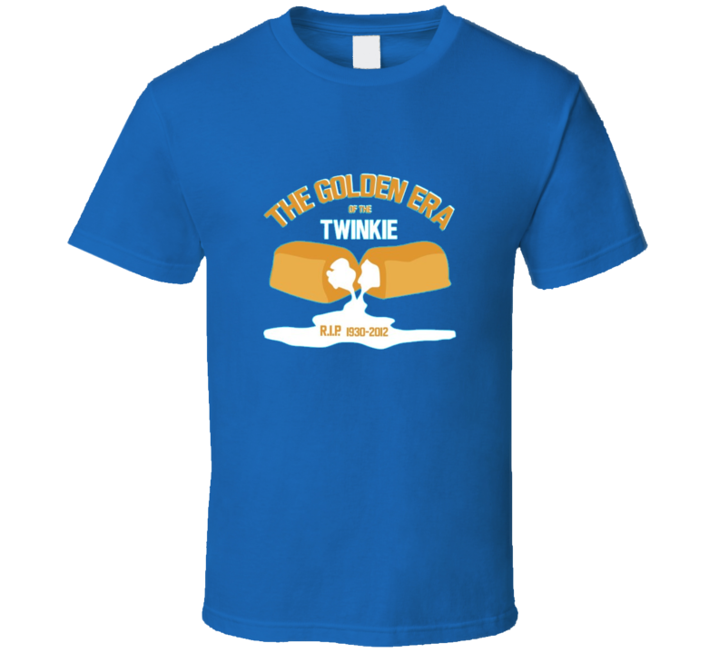 Funny RIP Twinkie Hostess T Shirt