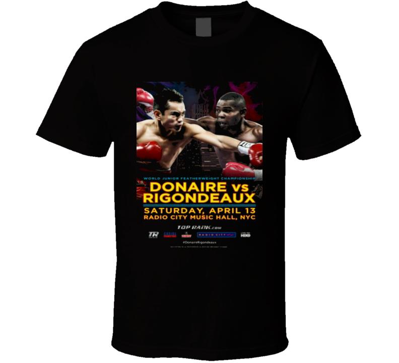 nonito donaire vs guillermo rigondeaux poster boxing T Shirt
