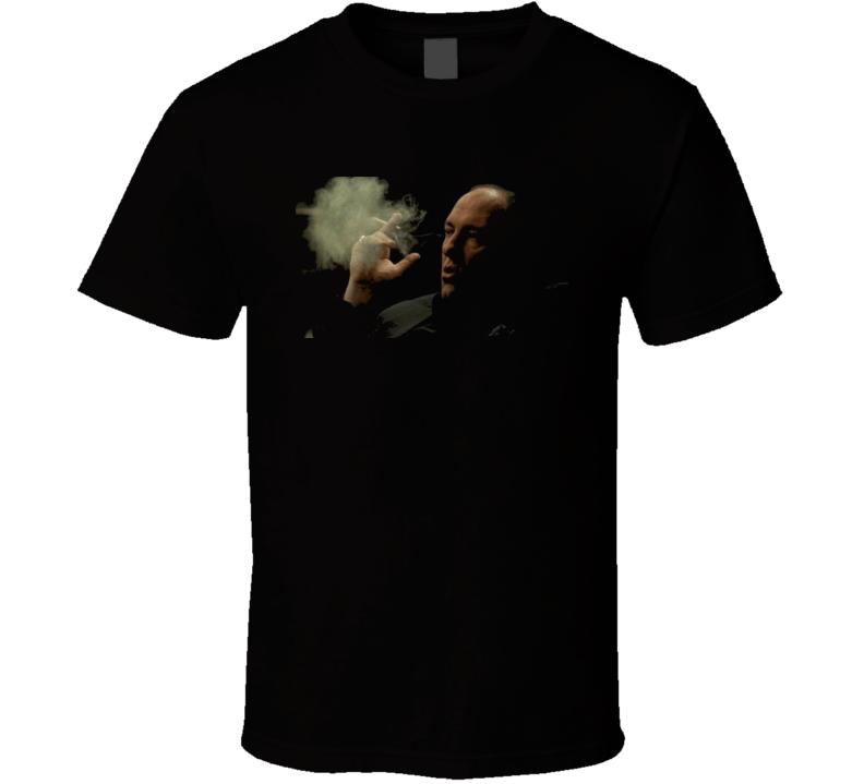 Tony Soprano The Sopranos TV Show cigar  T Shirt